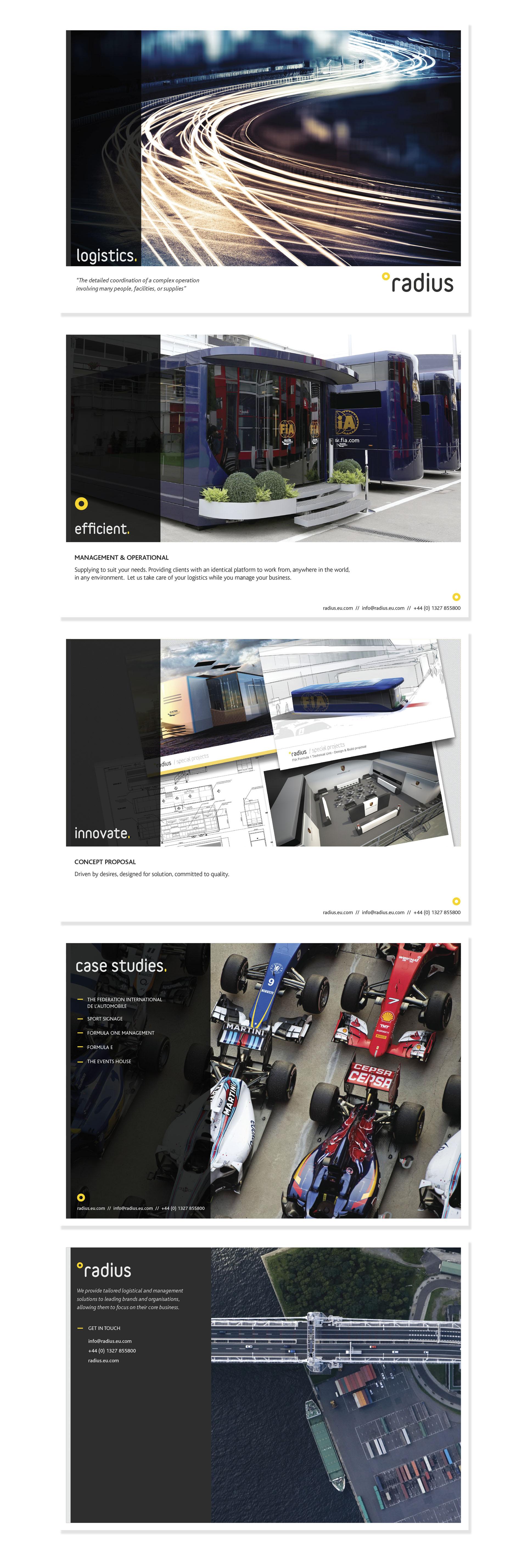 Radius Brochure Design